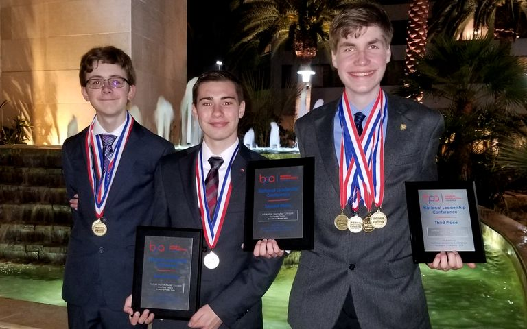 Clarkston BPA Students Earn Top Honors at Nationals